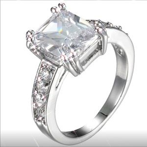 Jewelry - Fashion Jewelry 925 Sterling Silver Wedding Ring